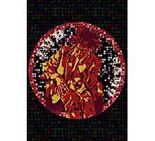 Jean-Michel Basquiat Mosaic Photographic Print