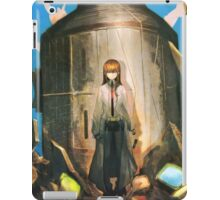 kurisu and the time machine, steins gate iPad Case/Skin