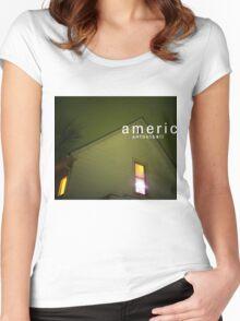 American Football - Album Art Women's Fitted Scoop T-Shirt