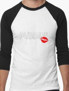 PUDDIN'! Men's Baseball ¾ T-Shirt