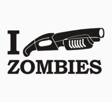 I SHOTGUN ZOMBIES funny dead apocalypse by jekonu