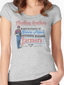Plumbing Brothers Women's Fitted Scoop T-Shirt