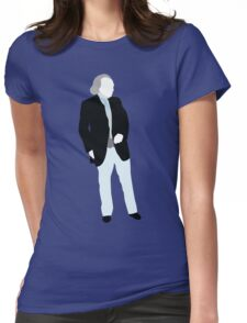 The First Doctor - Doctor Who - William Hartnell Womens Fitted T-Shirt