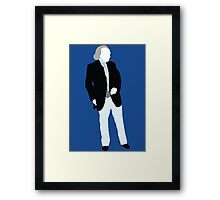 The First Doctor - Doctor Who - William Hartnell Framed Print
