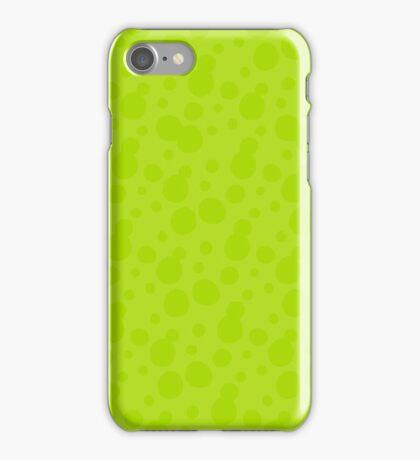 Splatoon Bubbles - Green iPhone Case/Skin