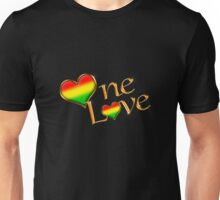 One Love (Gold) Unisex T-Shirt