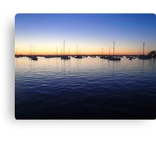 Sunset in Rhode Island Canvas Print