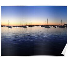 Sunset in Rhode Island Poster
