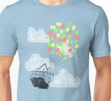 House in the sky Unisex T-Shirt