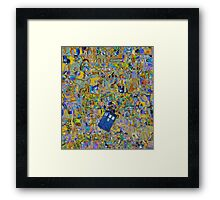 Tardis (expression) Framed Print