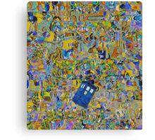 Tardis (expression) Canvas Print