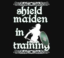 Shield Maiden in Training - Vikings Women's Fitted Scoop T-Shirt
