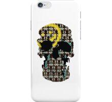 Sherlock Skull and Wall Print iPhone Case/Skin