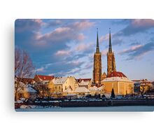 Wrocław Cathedral Canvas Print