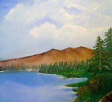 mountain Lake SF  by Sotiris Filippou