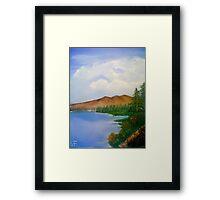 mountain Lake SF  Framed Print