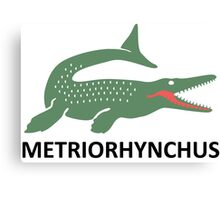 Metriorhynchus Canvas Print