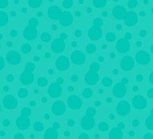 Splatoon Bubbles - Light Blue by NinjasInCarpets