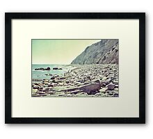 Let's see what's on the other side Framed Print