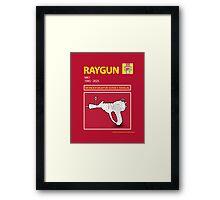 Ray Gun Mk1 Framed Print