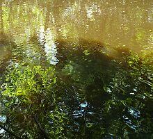 Abstract Waters - Sculpture gardens Ängelsberg, Sweden Part 2 by Barry W  King