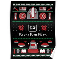 Black Box Films Christmas Sweater (Red & Green) Poster