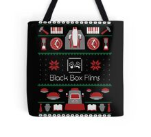 Black Box Films Christmas Sweater (Red & Green) Tote Bag