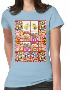 candy love Womens Fitted T-Shirt