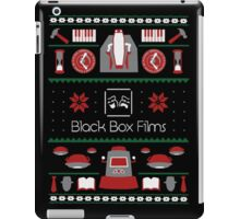 Black Box Films Christmas Sweater (Red & Green) iPad Case/Skin