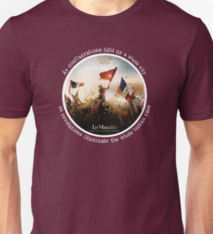 Les Miserables movie picture/book quote T-Shirt Unisex T-Shirt
