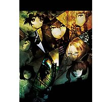 a fractured cast, steins gate Photographic Print