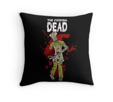 The Cooking Dead Throw Pillow