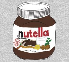 Chocolatey Nutella Design! Yum by sadeelishad