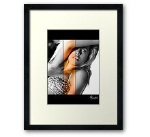 The Look In Your Eyes Framed Print