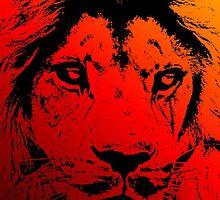 Incandescent Lion by Rastaman