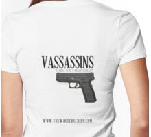 Vassassins (Gun Metal) Womens Fitted T-Shirt