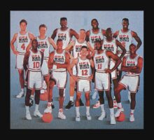 Team USA Dream Team- 1992 Barcelona Games by ksanwal