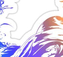 Final Fantasy 10 logo X Sticker