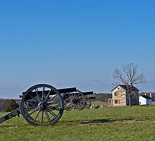 Cannons at Manassas by cclaude