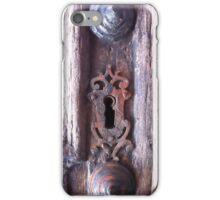 Baroque Keyhole  iPhone Case/Skin
