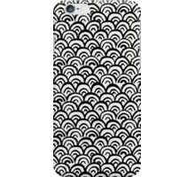 Hand Painted Fish Scales Pattern iPhone Case/Skin