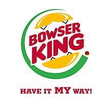 Bowser King Photographic Print