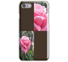 Pink Roses in Anzures 6 Blank Q3F0 iPhone Case/Skin