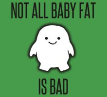Not All Baby Fat is Bad! - black One Piece - Short Sleeve