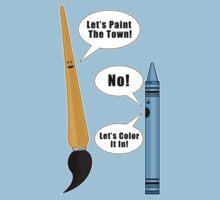 Lets Paint The Town! - Blue Kids Clothes