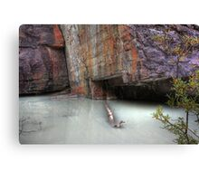 Milky water Canvas Print