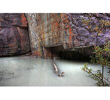Milky water Photographic Print