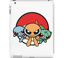 Powerpuff Pokemon iPad Case/Skin