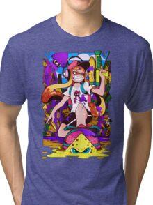 Splatoon Inkling Tri-blend T-Shirt