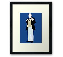 The First Doctor - Doctor Who - William Hartnell (Alt. Version) Framed Print